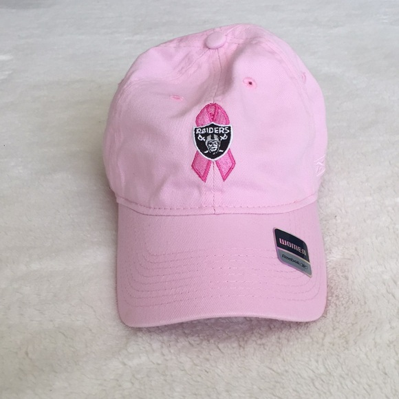 NFL Raiders Breast Cancer Awareness Hat 1106f4cf9a5